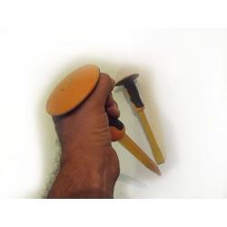 Sekač i Špic za metal, beton ili ciglu sa gumenim zaštitnikom