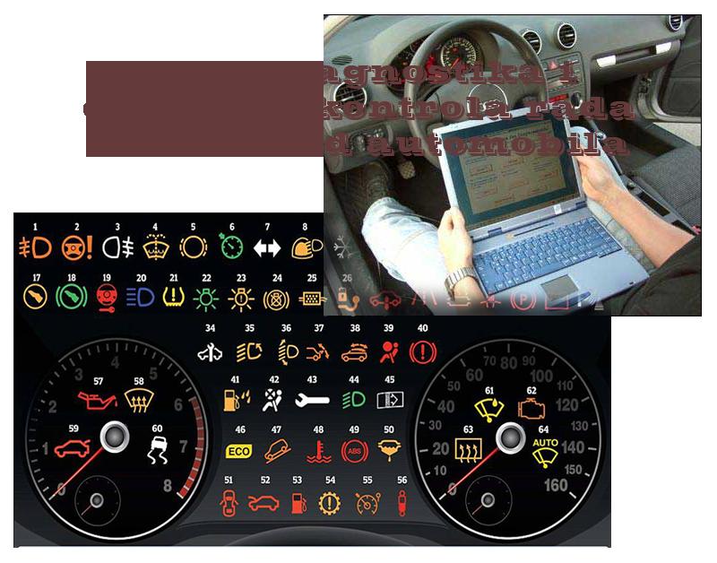 Autodijagnostika i digitalna kontrola rada motora kod automobila