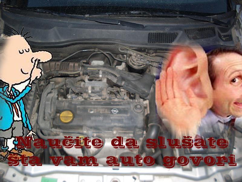 Naucite da slusate auto