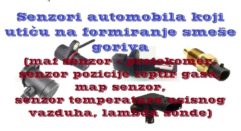 Senzori automobila u kontroli smese goriva