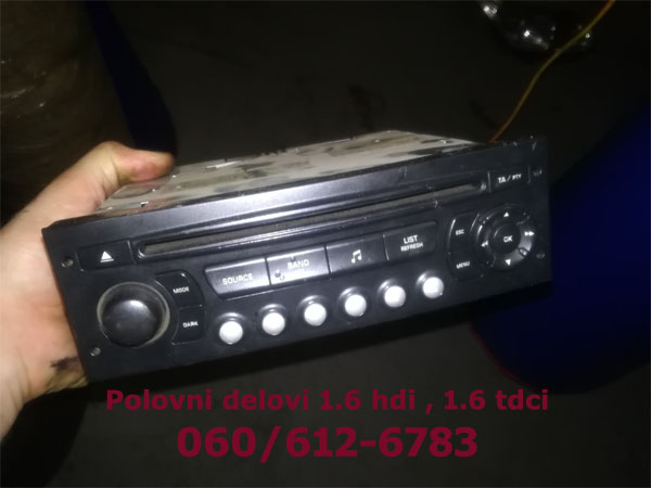 radio-cd-citroen-c4