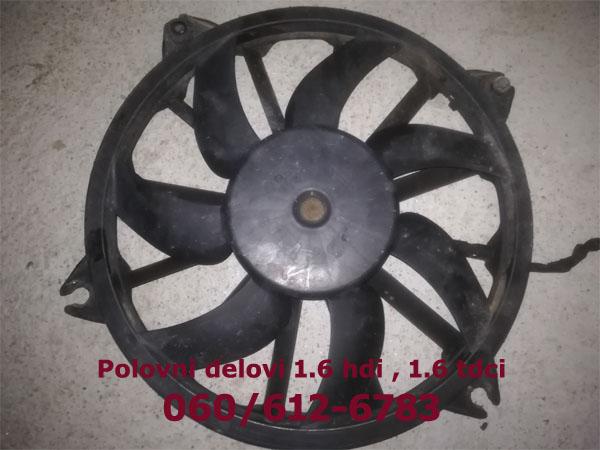 ventilator-hladnjaka-1.6-citroen-peugeot-ford-mazda